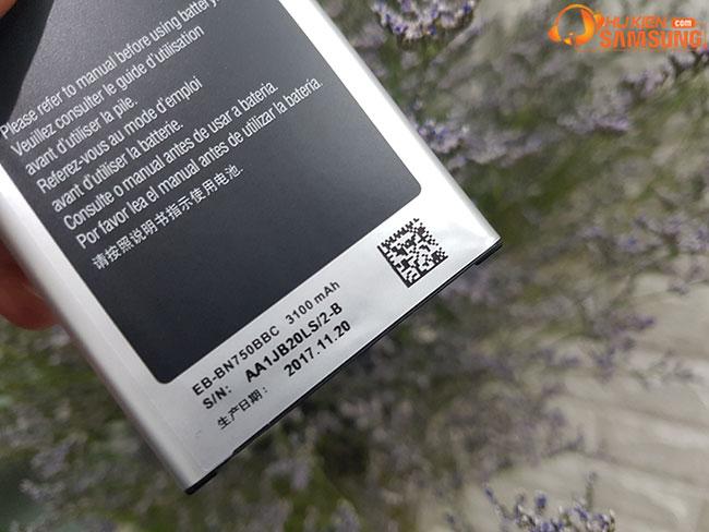 giá pin Note 3 Neo chính hãng rẻ Hà Nội