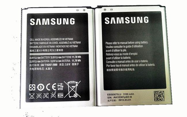 Pin Samsung Note 2 chính hãng giá rẻ