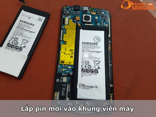 pin galaxy S6 Edge chính hãng giá tốt Hà Nội