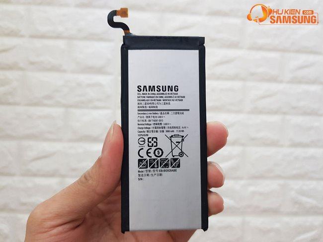 thay pin S6 edge Plus chính hãng giá rẻ hcm