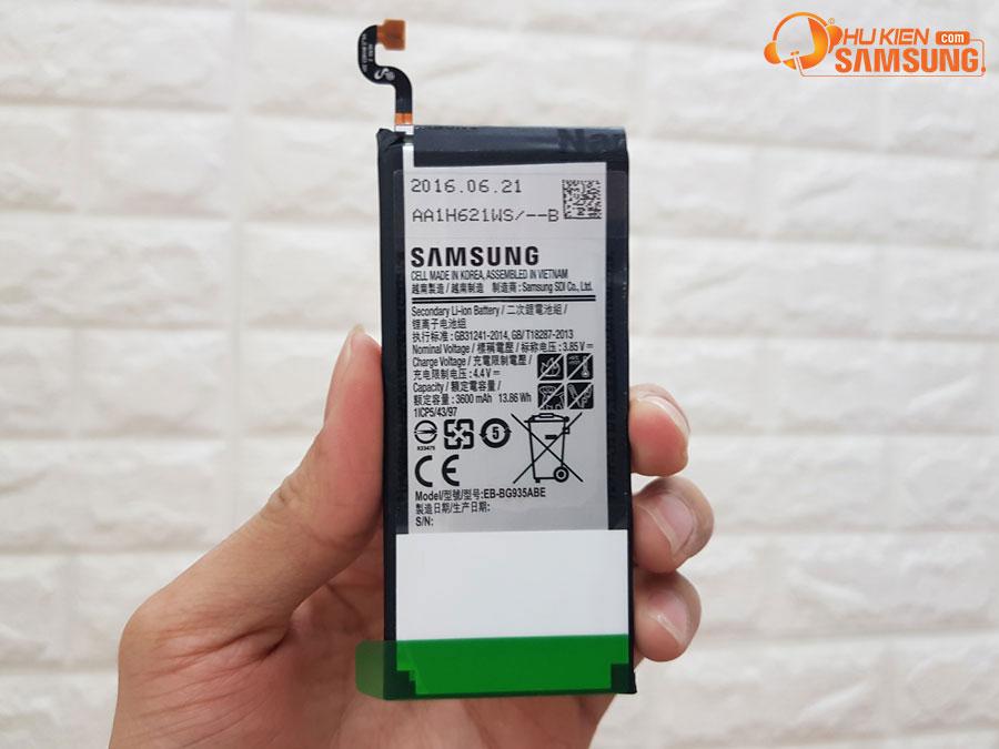 Pin Galaxy S7 Edge chính hãng dung lượng cao, bền