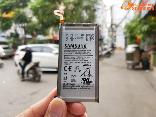 Thay Pin Samsung S9 chính hãng giá rẻ Hà Nội HCM