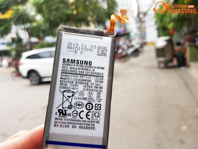địa chỉ thay pin Galaxy Note 9 giá rẻ HCM