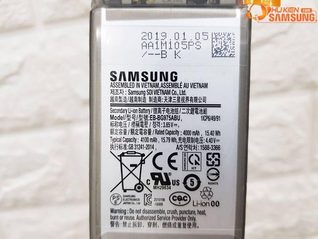 giá thay Pin S10 Plus bao nhiêu Hà Nội - hcm