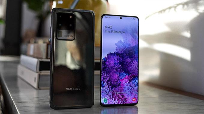 Thiết kế sang trọng Galaxy S20 Ultra pinsamsunggalaxy
