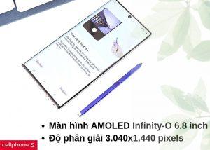 Samsung Galaxy Note 10 Plus cấu hình mạnh mẽ
