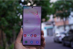 Samsung Note 10 Plus màn hình ấn tượng
