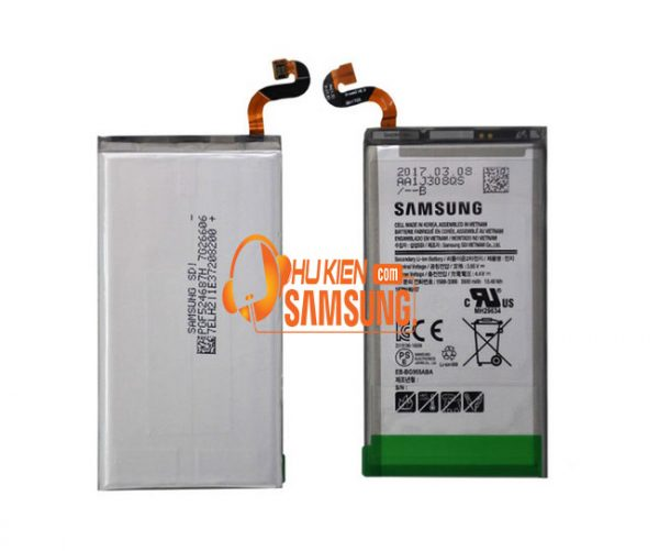 Thay pin S8 Plus chính hãng giá rẻ hcm